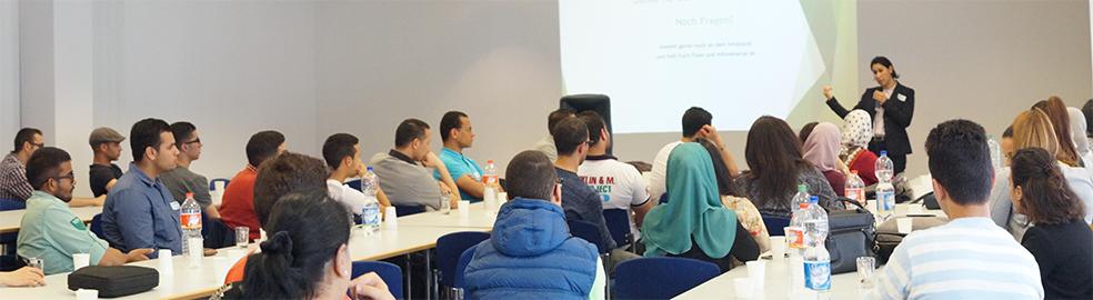 Einführungsveranstaltung zum JuSt-Mentoring